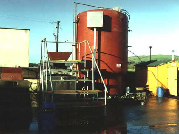Pilot Scale High Solids Digester