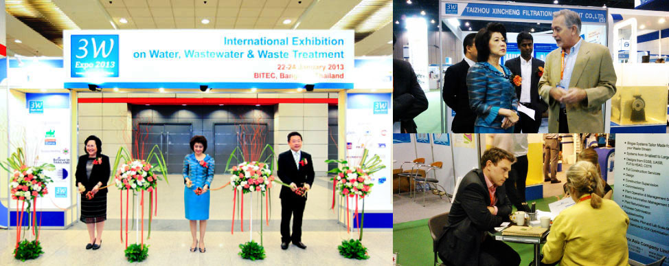 Thank you for visiting our Stand at the International 3W Exhibition on Water